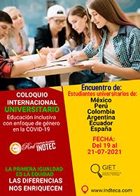I Coloquio Internacional Universitario 2021