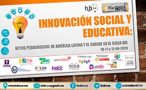 Afiche Innovación Social y Educativa